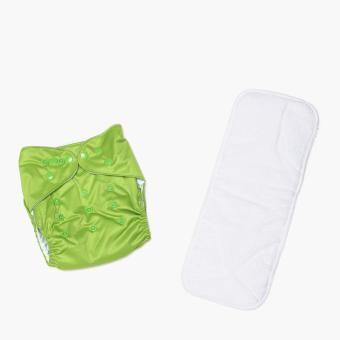 Belle & Coco Cloth Diaper (Light Green)