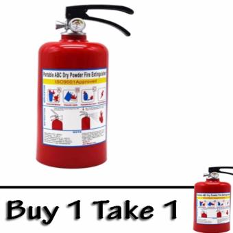 (BUY ONE TAKE ONE) Coin Bank Fire Extinguisher Design Red No.MT53