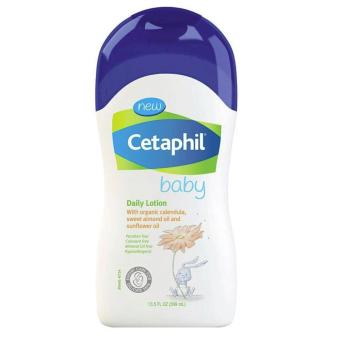 Cetaphil Baby Daily Lotion with Organic Calendula, Sweet Almond OilAnd Sunflower Oil, 13.5oz/399ml