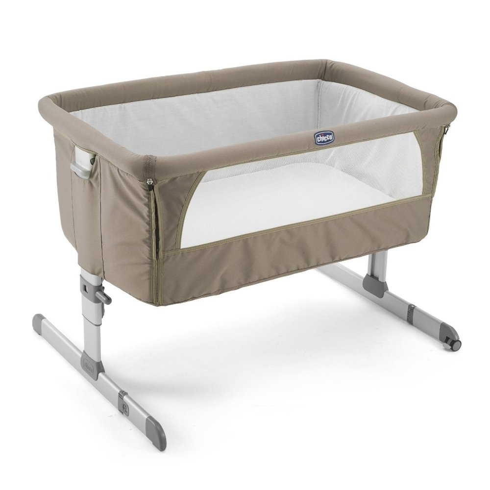 Crib for babies philippines - Chicco Next To Me Co Sleeper Crib Dove Grey
