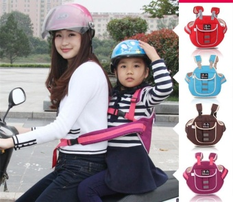 Childrens Motorcycle Safety Harness,Baby Kid Ride Safety Straps,Carry a Child Rider Safety Webbing, Oxford Cloth - intl
