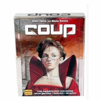 Coup Reformation Board Game 2-6 Players for Party/Family ,Englishand Chinese Edition Easy To Play Christmas Party Play - intl