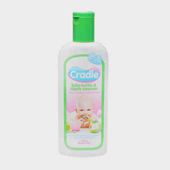 Cradle Bottle and Nipple Cleanser