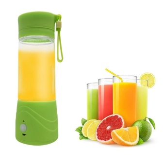 Electri Portable USB Rechargeable Juice Blender 380ml - intl