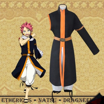 Fairy Tail cos seven years after Naz the duo Lage Neil jh cos play clothing Naz COS clothes