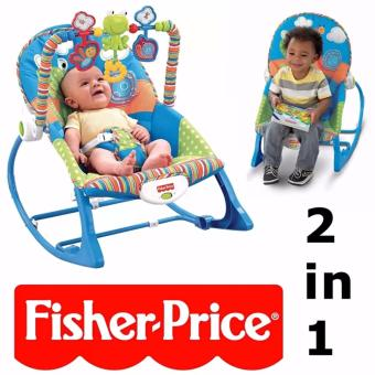 Fisher Price Infant to Toddler Baby Rocker (Blue)