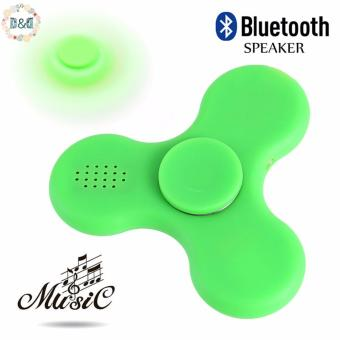 Greatnes D&D Fidget Hand Spinner LED Light Bluetooth Speaker Music Focus Toy