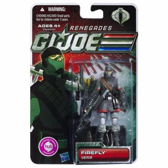 "Hasbro 653569657187 Renegades G.I.Joe ""Firefly"" Saboteur Action Figure ORIGINAL*"