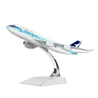 Hong Kong Cathay Pacific Boeing 747 16cm Metal Airplane ModelsChild Birthday Gift Plane Models Home Decoration - Intl