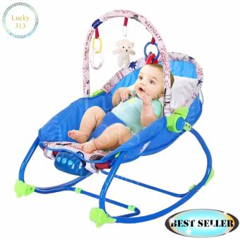Infant To Toddler Baby Rocker Blue