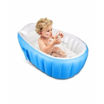 Inflatable Baby Bath Tub (Blue)