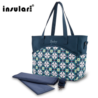 Insular Shishang multi-functional large capacity shoulder to be produced package mommy bag