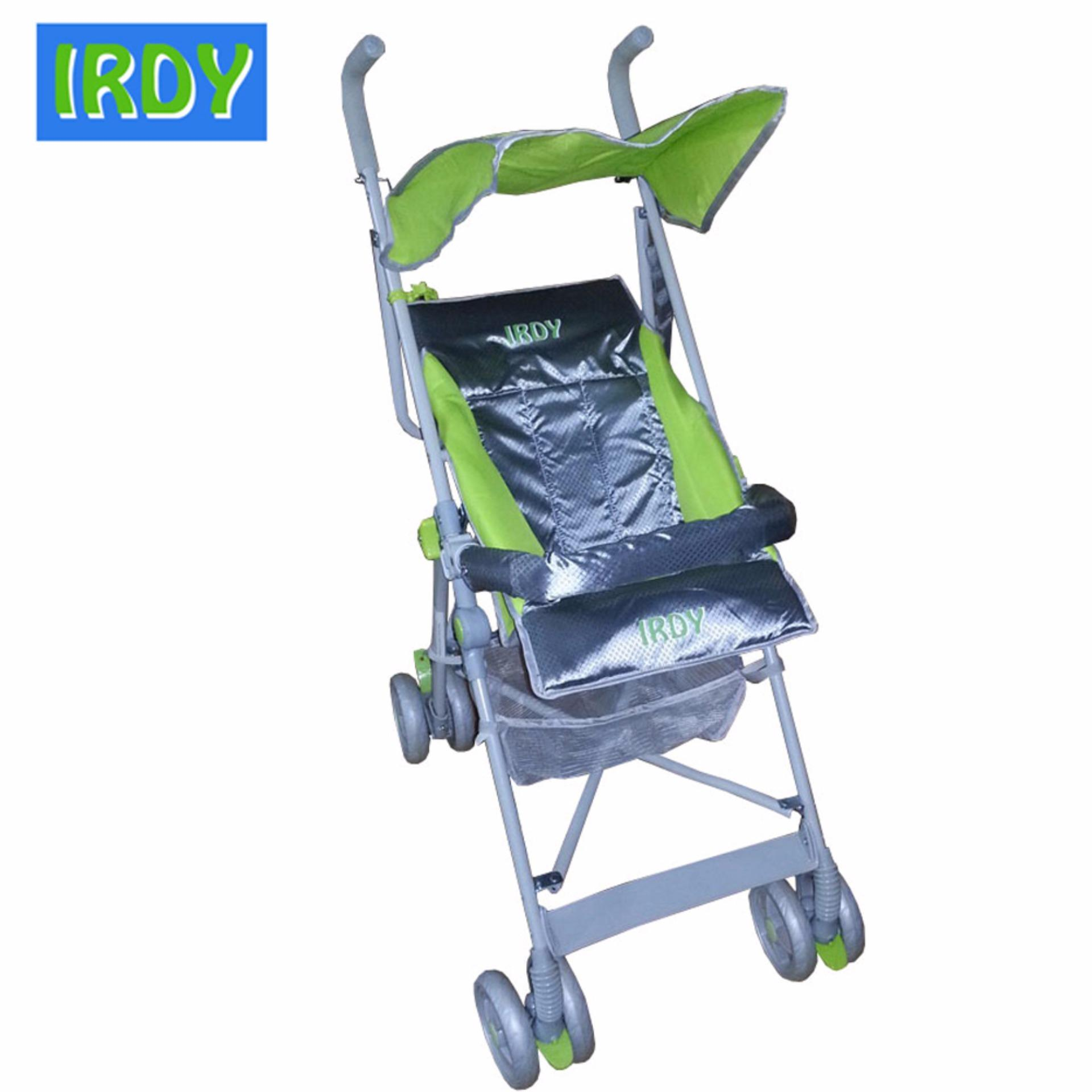 Crib for sale in olongapo - Irdy S 770ab 2 Way Umbrella Stroller With Safety Bar Green