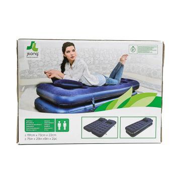 Jilong 3 IN 1 Flocked Air Bed