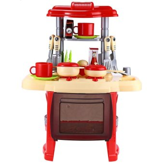 Kids kitchen cooking toy set for role play lazada ph for Kitchen set for 4 year olds
