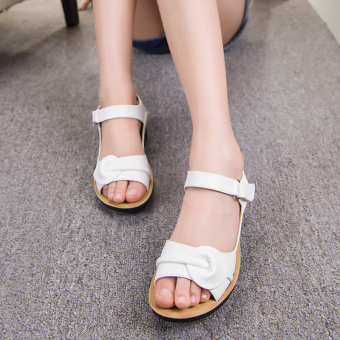 Korean-style New style summer female big children's shoes sandals
