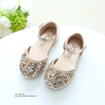 Korean-style spring and summer New style Baobao shoes girls leather shoes