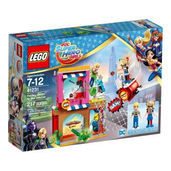 LEGO DC Super Hero Girls Harley Quinn(TM) to the rescue