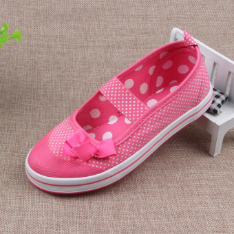 Lu Taihan version New Style Children sail cloth shoes girls cloth shoes