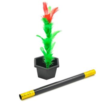 Magic Flower Stick Rod Pop up Flower Magic Props Magic Trick MagicJoke Toy Easy to Play for Kids Party Show - intl