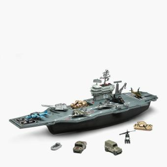 Micro Soldiers Aircraft Carrier Playset