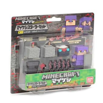MineCraft 06 Red Stone Pack Eraser