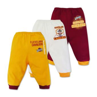 NBA Baby - 3-piece Pajama Pants (Cavaliers Basketball) 3-6 Months