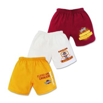NBA Baby - 3-piece Shorts (Cavaliers Basketball) 3-6 Months