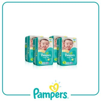 Pampers Baby-dry Taped Diaper S 58pc x 4 Pack
