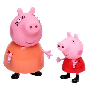 Peppa Pig Mommy Pig & Peppa Twin Pack