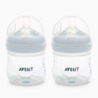 Philips Avent Natural Feeding Bottle 125 ml Set of 2