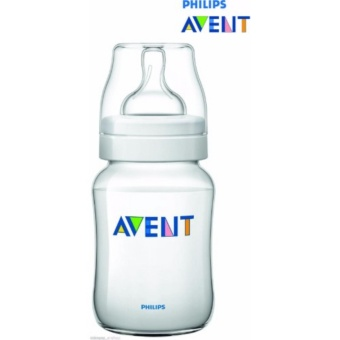 Philips Avent SCF 563/17 260ml 9oz Natural Classic Plus FeedingBottle BPA Free (Clear)