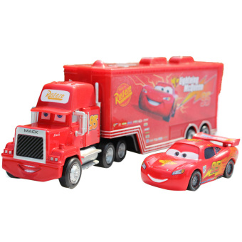 Pixar Car No.95 Mack Racer's Truck Lightning McQueen Toy Cars For Boys Red