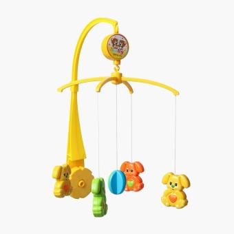 Playsmart Dog Wind Up Musical Crib Mobile