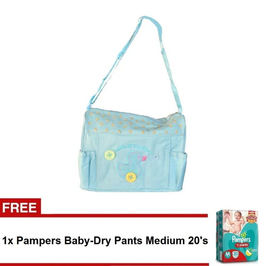 diaper bag designer sale aqgr  Tickle TMN-003 Cutie Duck Design Diaper Bag Blue