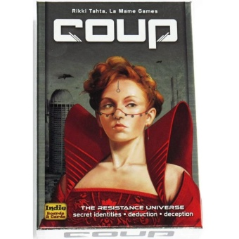 Toy Collections Coup Reformation Board Game 2-6 Players for Party Play
