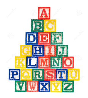 Wooden Alphabet and Numbers Blocks Set