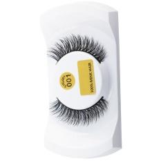 Individual False Eye Lashes 6D Wave Mink 0.07 C Black Silk Eyelashes Extension - intlPHP548.