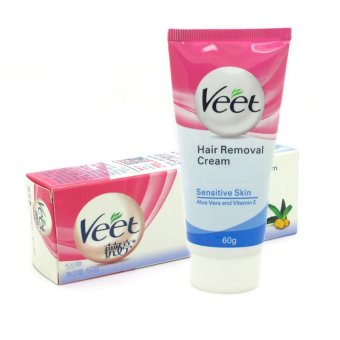 60g VEET Aloe Permanent Fast Depilatory Shaving Hair Removal Cream Painless Depilation For Hands Legs Armpits Private Parts - Intl