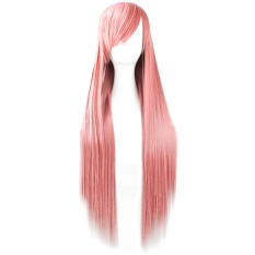 PHP 621 80cm 32inch Length Fashion Colorful Cosplay Long Straight Hair Extensions Wig for Masquerade Party Halloween Christmas ...