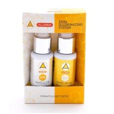 Alumina Dual Whitening System AM and PM Face Cream (White/Orange) Philippines