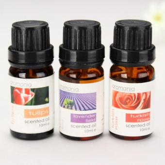 Aromania Lavender Tulip Scented Rose Oil Sachets Air PurifierBurner Oils Set of 3