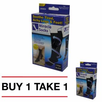 BIH Miracle socks Compression Socks Unisex Miracle Anti-Fatigue BUY1 GET 1 FREE