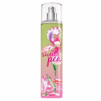 BODY LUXURIES Sweet Pea Fine Fragrance Mist 8fl oz/236ml (1pc)