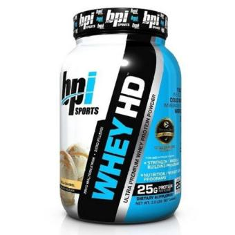 BPI Sports Whey-HD Ultra Premium Whey Protein Powder