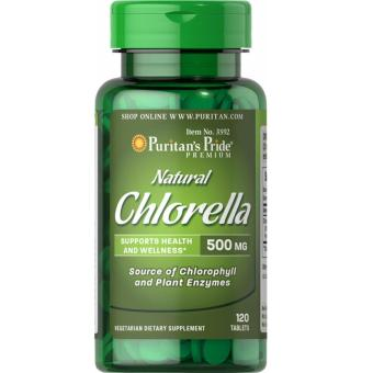 Chlorella Natural 500mg with Chlorophyll and Super Foods Puritan'sPride
