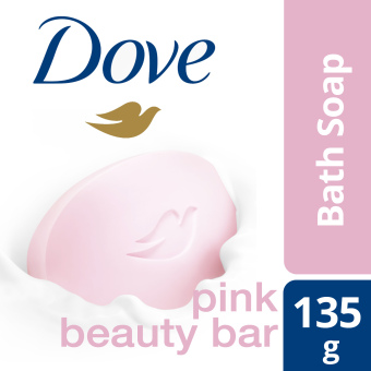 DOVE BAR SOAP PINK BEAUTY 135G
