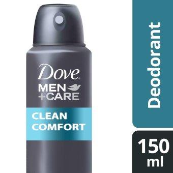 DOVE MEN DEODORANT SPRAY CLEAN COMFORT 150ML