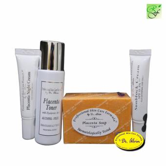 Dr. Alvin PLacenta Facial Set for Whitening and Anti Aging