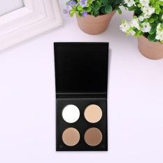 Eye Makeup 4-Color Highlight Pearl Shimmer Palette Matte Eye Shadow Powder - intl Philippines